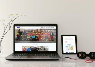 Creazione sito web dinamico – Corsi protezione civile