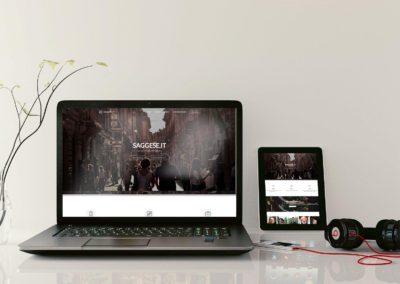 """Sviluppo Sito web – """"Casa Saggese"""""""