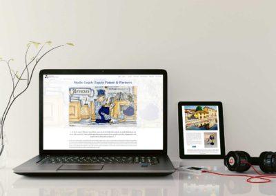 Sito web studio legale – Zappia Patanè & Partners